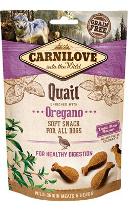 Carnilove Dog Soft Snack Quail & Oregano 200 g