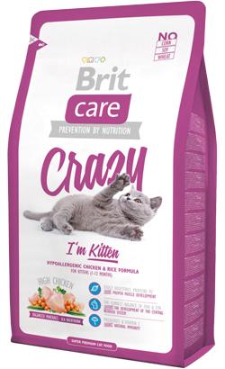 Brit Care Cat Crazy Kitten High Chicken 7 kg