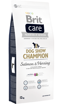 Brit Care Dog Show Champion Adult All Breeds Salmon & Herring 12 kg