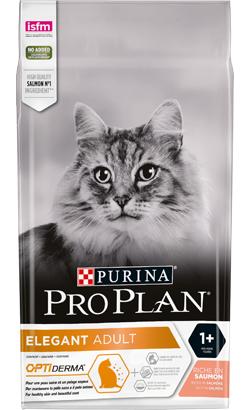 Pro Plan Cat OptiDerma Elegant Adult Salmon 400 g