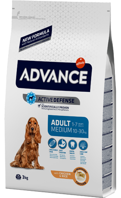 Advance Dog Medium Adult Chicken & Rice 14 Kg