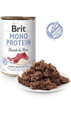 Brit Care Dog Mono Protein Lamb & Rice (Lata)  6 x 400 g