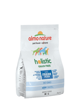 Almo Nature Dog Dry Holistic Grain Free Adult XS-S Fresh Pork 2 kg