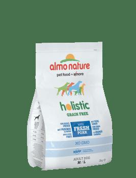 Almo Nature Dog Dry Holistic Grain Free Adult M - L Fresh Pork 2 kg
