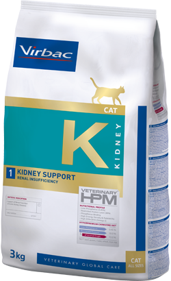 Virbac Veterinary HPM K1 Cat Kidney Support 3 kg