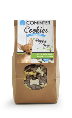 Cominter Dog Snack Cookies Puppy Mix 500 g
