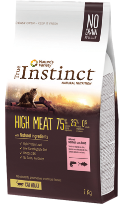 True Instinct Cat Adult High Meat Salmon with Tuna 1 kg