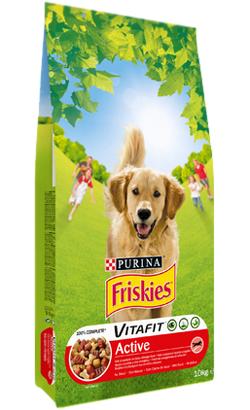 Friskies Cão Active Adulto Carnes, Cereais e Verduras 18 kg