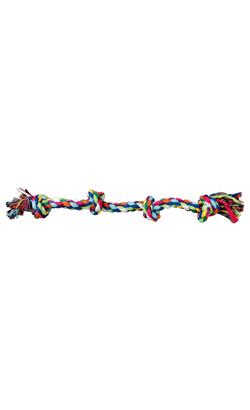 Trixie Brinquedo Denta Fun Playing Rope 4 Nos 54 cm