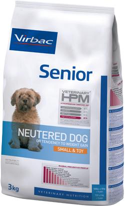 Virbac HPM Senior Neutered Dog Small & Toy 1,5 kg