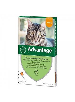 Advantage gato < 4 kg