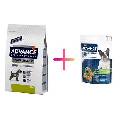 Advance Vet Dog Hypoallergenic + Advance Dog Hypoallergenic Snack