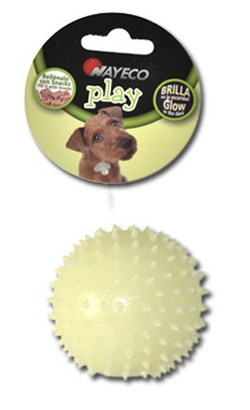 Nayeco TPR Fluorescent Spike Ball Reward - 1 Unidade
