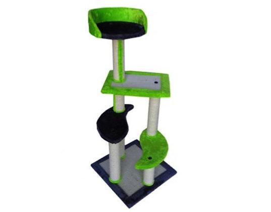 Arranhador PL 4 Alturas Verde - 108 cm