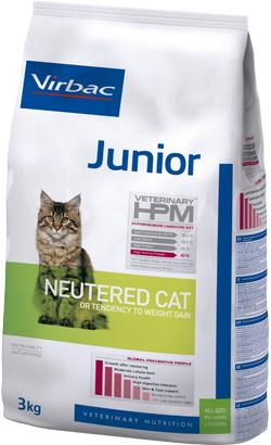 Virbac HPM Junior Neutered Cat 400 g