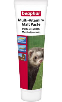 Beaphar Pasta de Malte e Multi-Vitaminas para Furões 100 g