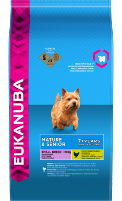 Eukanuba Dog Mature & Sénior Small Breed Chicken 1 kg