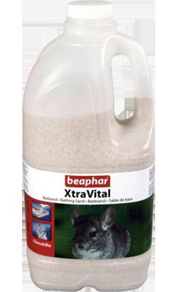 Beaphar Areia de Banho XtraVital para Chinchilas 2 L