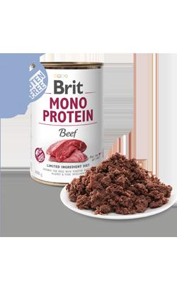 Brit Care Dog Mono Protein Beef (Lata) 6 x 400 g