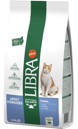 Libra Gato Sterilized Atum & Cevada 1,5 Kg