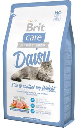 Brit Care Cat Daisy Overweight High Turkey 7 kg