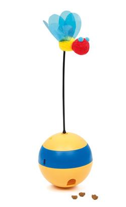 Catit Gato Brinquedo Interativo Play Tumbler Bee
