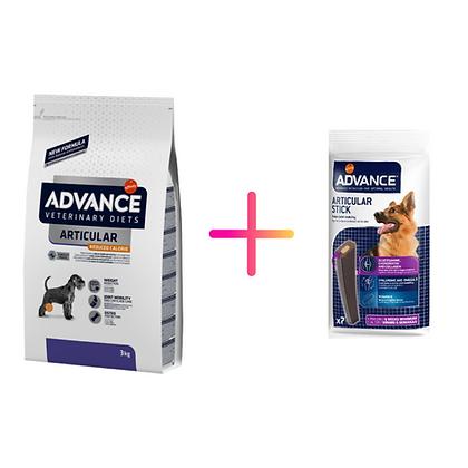 Advance Vet Dog Articular Reduced Calorie + Advance Dog Articular Care Stick