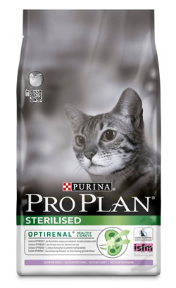 Pro Plan Cat OptiRenal Sterilised Adult Turkey & Rice 1,5 Kg