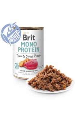 Brit Care Dog Mono Protein Tuna & Sweet Potato (Lata) 6 x 400 g