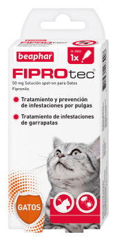 Beaphar Fiprotec Spot On Gato - 1 Pipetas
