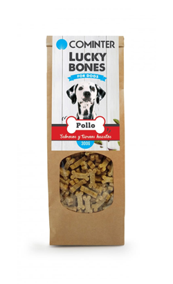 Cominter Dog Snack Lucky Bones Chicken 300 g
