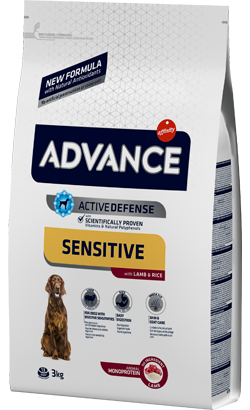 Advance Dog Adult Sensitive Lamb & Rice 12 kg