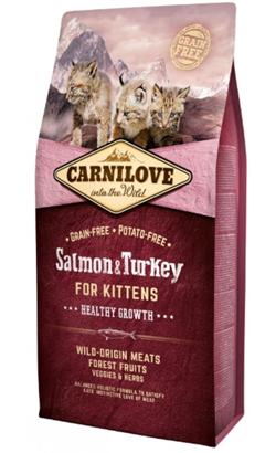 Carnilove Kitten Healthy Growth Salmon & Turkey 400 g