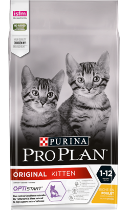 Pro Plan Cat OptiStarter Original Kitten Chicken & Rice 3 Kg