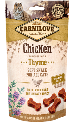 Carnilove Cat Soft Snack Chicken & Thyme 50 g