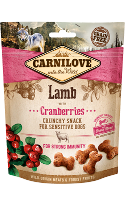 Carnilove Dog Crunchy Snack Lamb & Cranberries 200 g
