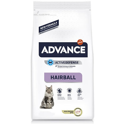 Advance Cat Hairball Turkey & Rice 1,5 Kg