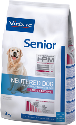 Virbac HPM Senior Neutered Dog Large & Medium 12 kg