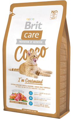 Brit Care Cat Cocco Gourmand Duck & Salmon 2 kg