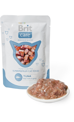 Brit Care Cat Wet - Tuna - 24 x 80 g