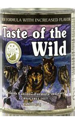 Taste of the Wild Wetlands Canine Formula - Lata - 12 x 390 g