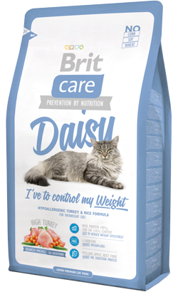 Brit Care Cat Daisy Overweight High Turkey 2 kg