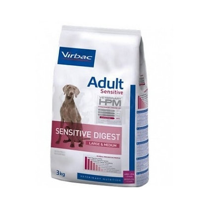 Virbac HPM Adult Dog Sensitive Digest Large & Medium 12 kg