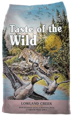 Taste of the Wild Lowland Creek Feline Formula - 6,6 Kg
