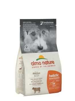 Almo Nature Dog Dry Holistic Adult Small Fresh Beef 2 kg