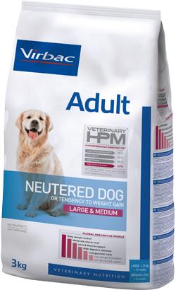 Virbac HPM Adult Neutered Dog Large & Medium 12 kg