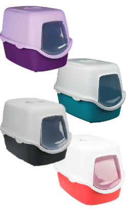 Trixie WC Vico Litter Tray with Dome