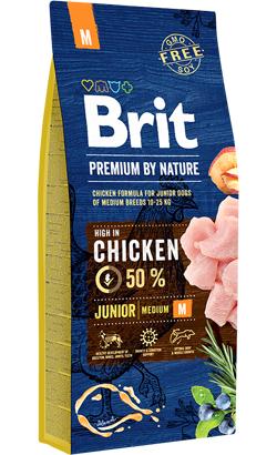 Brit Blue Nature Junior Medium Dog 3 kg