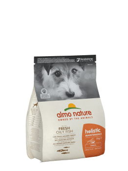 Almo Nature Dog Dry Holistic Adult Small Fresh Oily Fish 2 kg