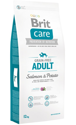Brit Care Grain-free Dog Adult Salmon & Potato 12 kg